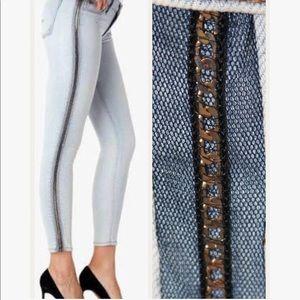 NWT Hudson Luna Super Skinny Crop Jeans